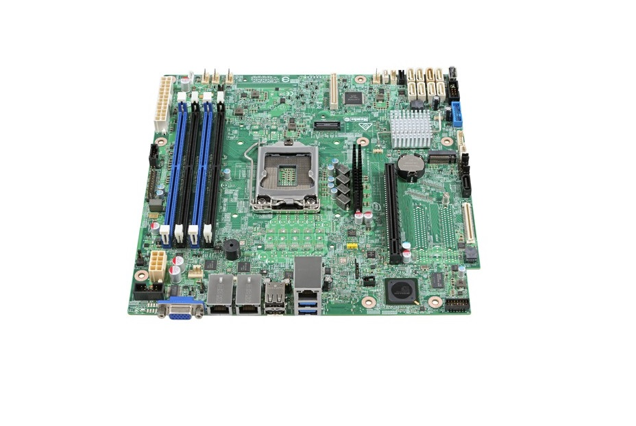 Intel S1200SPOR Intel C236 Chipset DDR4 Single Socket LGA1151 Micro ATX Server Motherboard DBS1200SPOR