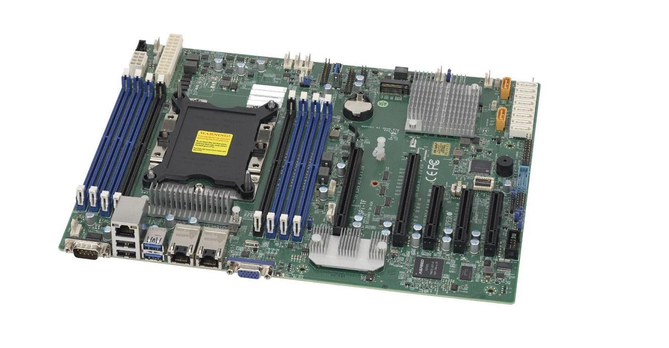 Supermicro X11SPi-TF C622 Chipset DDR4 Single LGA-3647 (Socket P) Atx Server Motherboard MBD-X11SPI-TF-O
