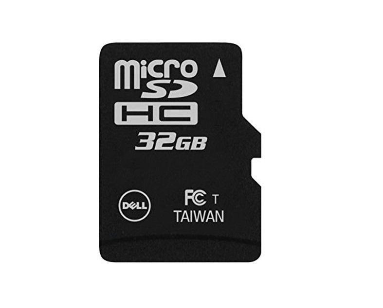 Dell 32GB Microsdhc Flash Memory Card 385-BBKK