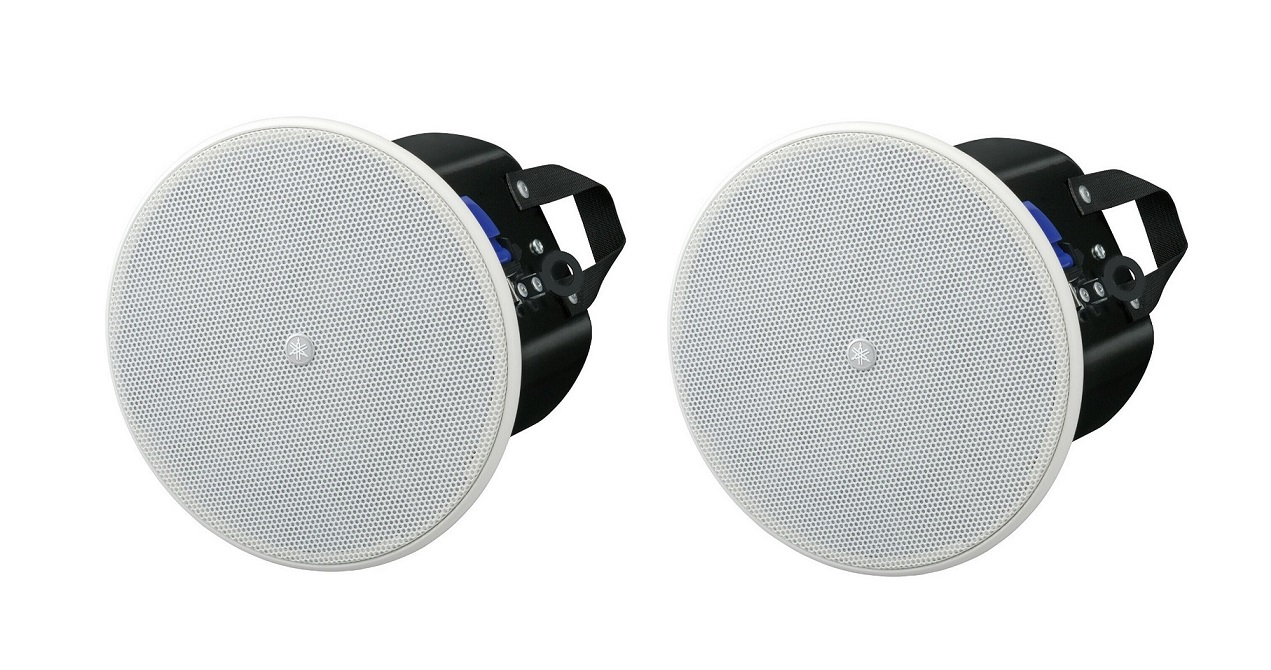 Yamaha VXC8W Vxc Series 2-way 8 180W Pgm Pair Speakers White VXC8W