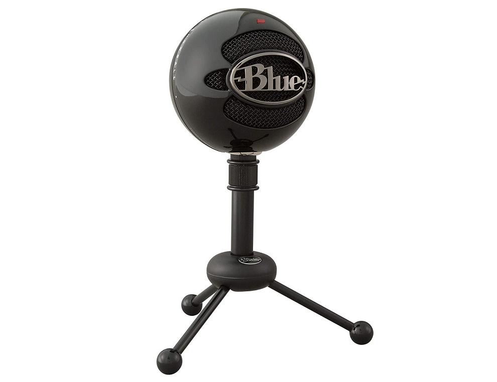 Blue Snowball USB Condenser Microphone Black Snowballglossblack 988-000069