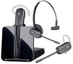 Plantronics CS540 Wireless Convertible Dect 6.0 Over the Ear Headset Black 84693-01
