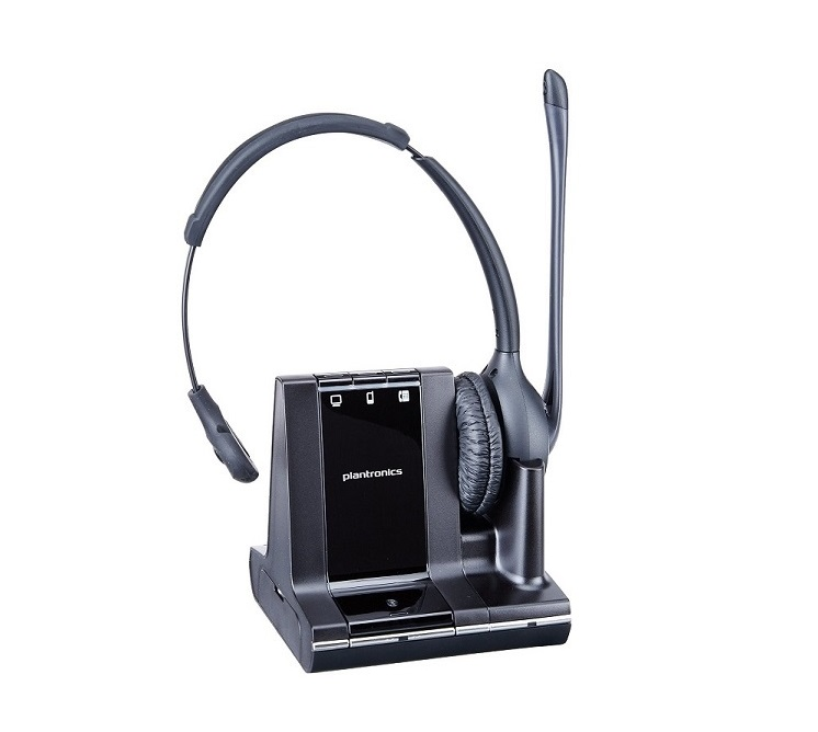 Plantronics Savi W710 Headset Mono Wireless Dect Over-the-head Semi-Open Noise Cancelling 83545-01