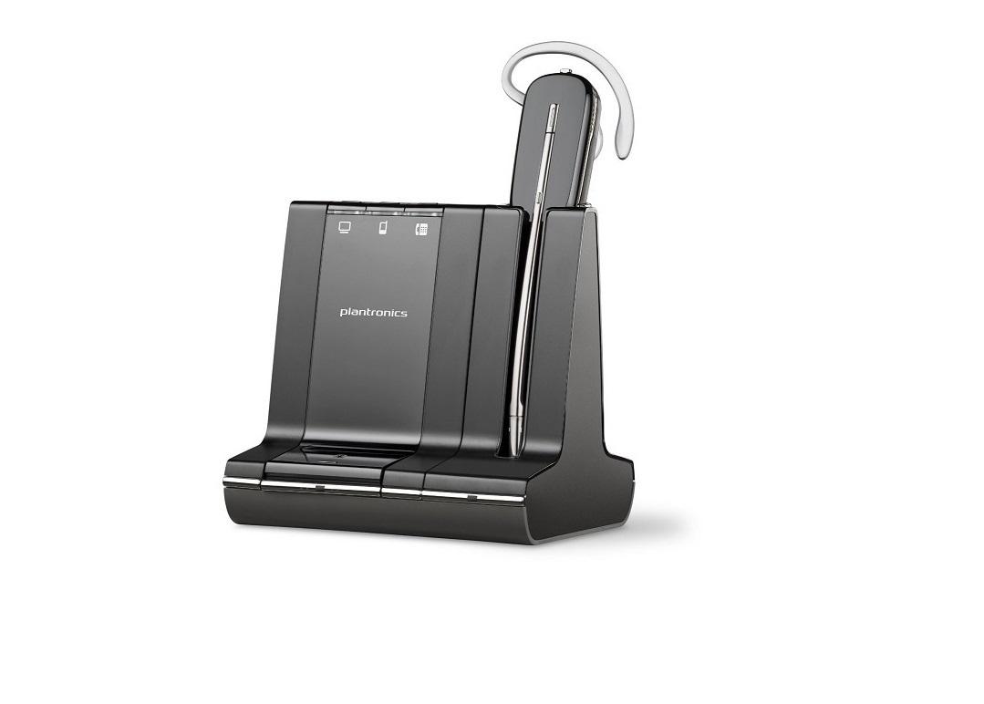 Plantronics Savi W740 Mono Convertible Wireless Headset 83542-01