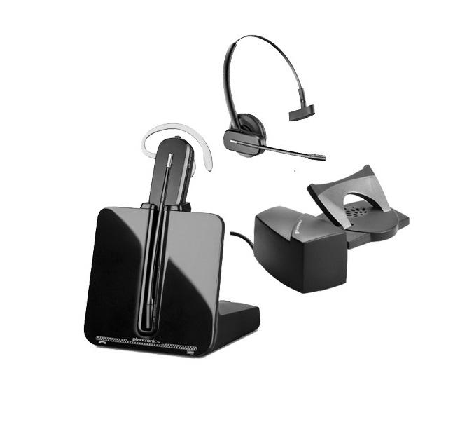 Plantronics CS540 Wireless Headset With HL10 Handset Lifter 84693-11