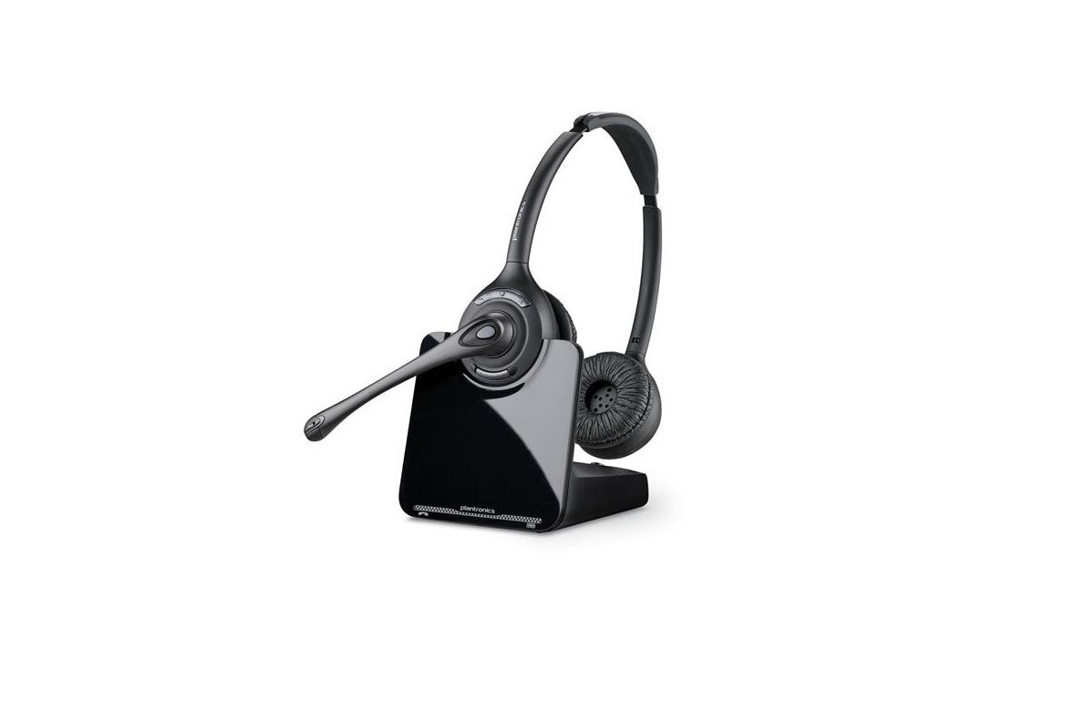 Plantronics CS520-XD Wireless Binaural on Ear Headset 88285-01