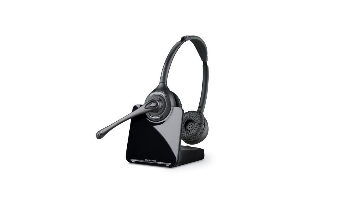 Plantronics CS520-XD Wireless Binaural on Ear Headset 88285-01