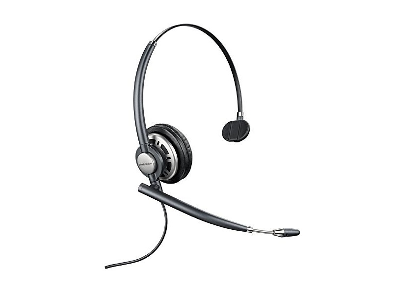 Plantronics EncorePro HW710 Over-the-Head Monaural Wired Headset 78712-101