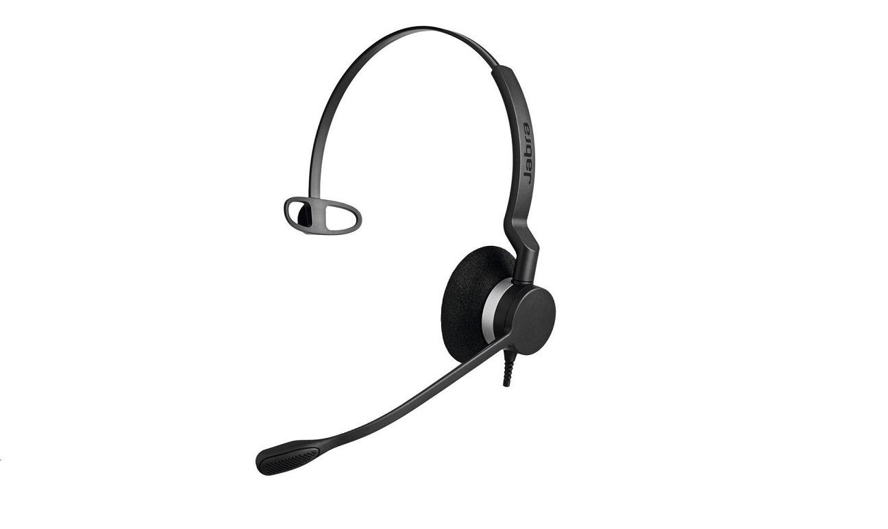 Jabra 2303-820-105 BIZ 2300 QD Mono Over-the-head Headset With Quick Disconnect Plug 2303-820-105