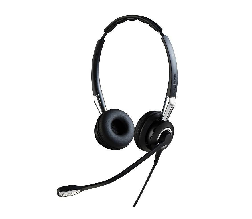 Jabra 2499-829-209 2400 USB DUO BlueTooth Headset Black 2499-829-209