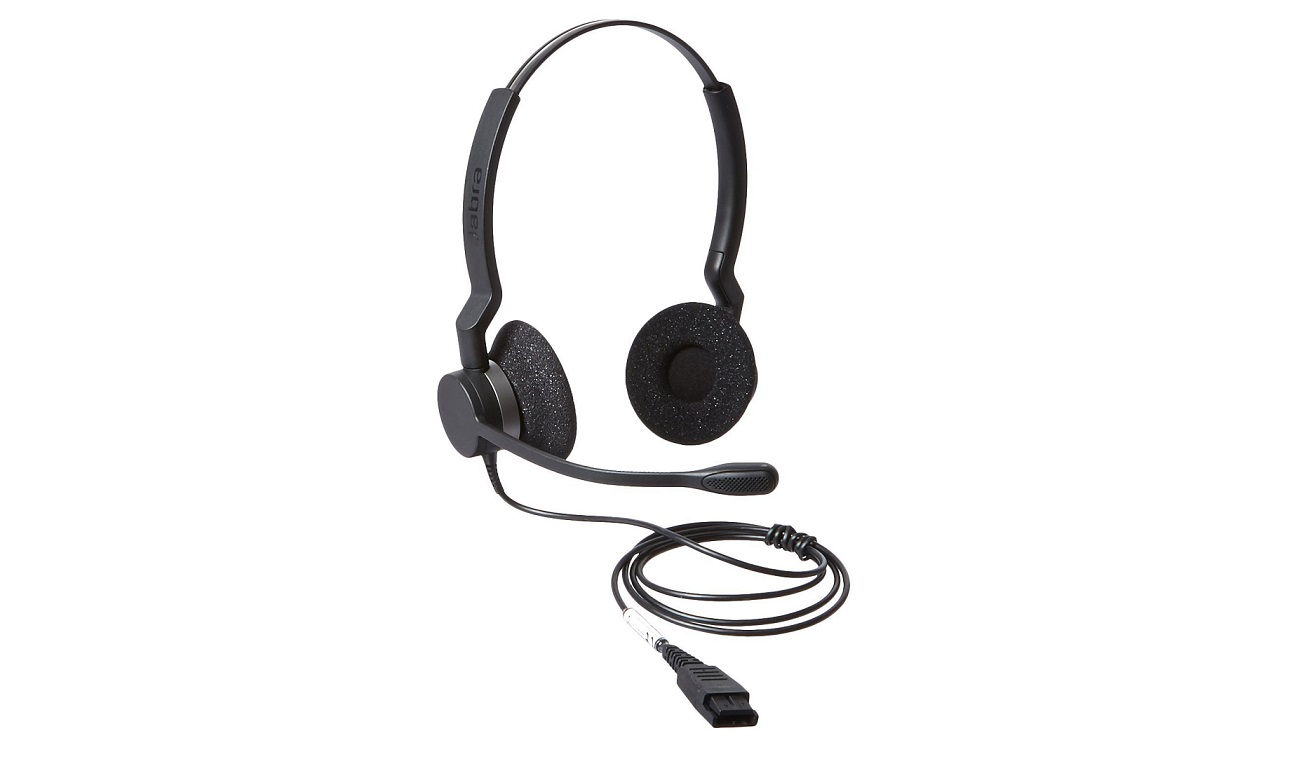 Jabra BIZ 2325 QD DUO Wired Professional Headset 2309-820-105