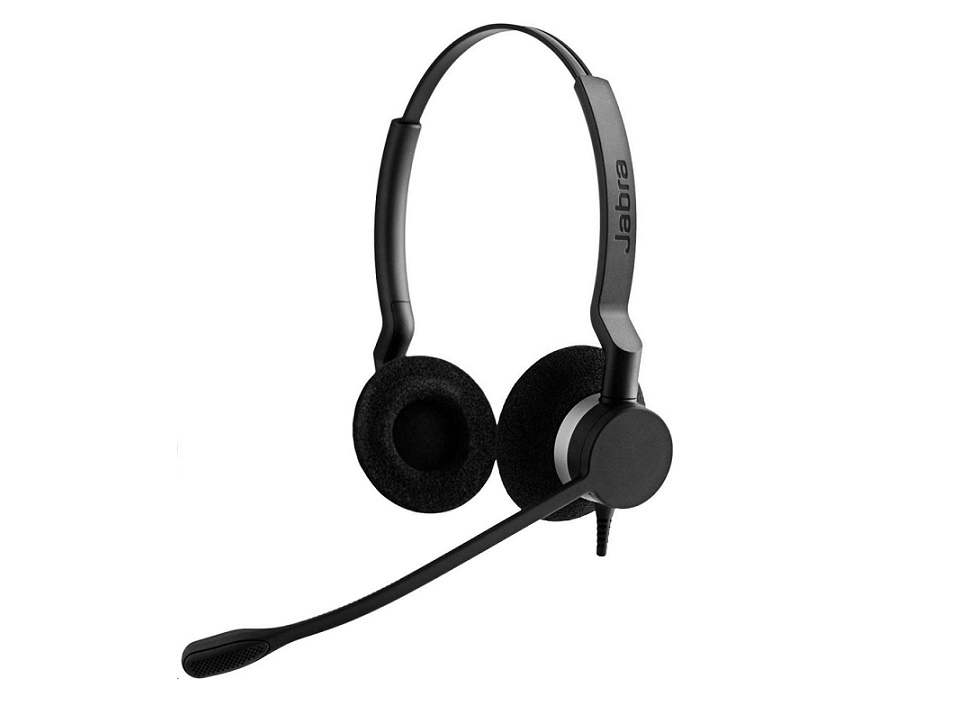 Jabra BIZ 2300 QD DUO Headset 2309-820-105