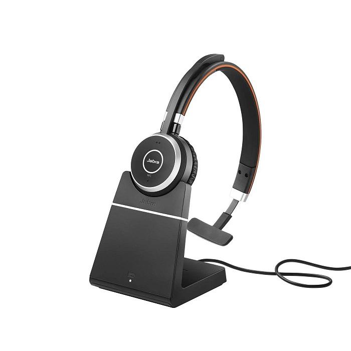 Jabra Evolve 65+ MS Mono Wireless Headset 6593-823-399