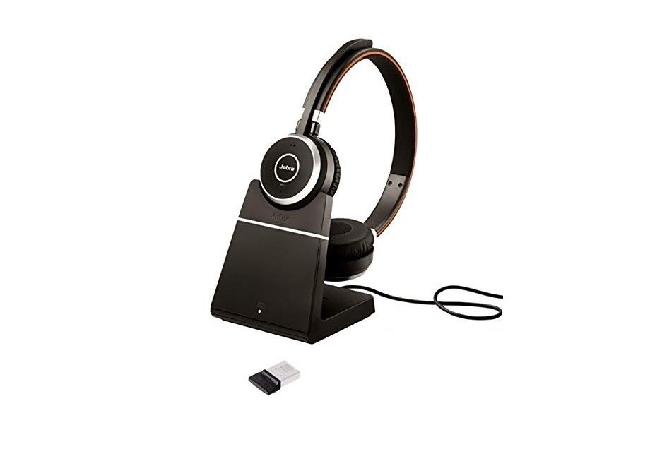 Jabra 6599-823-499 Evolve 65 UC Stereo BlueTooth Headset 6599-823-499