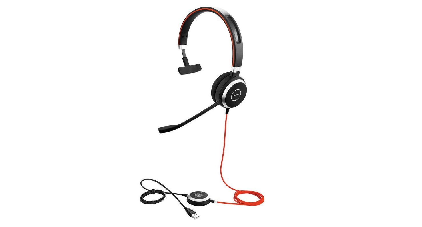 Jabra 6393-829-209 Evolve 40 UC Mono Headset