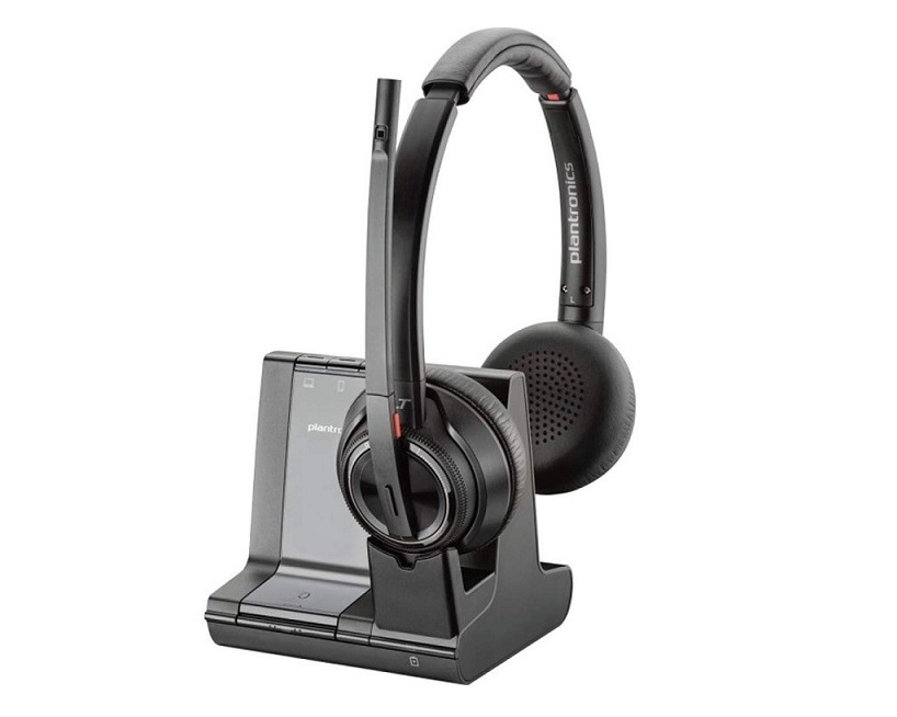 Plantronics 207325-01 Savi 8220 Wireless Dect Headset System 207325-01