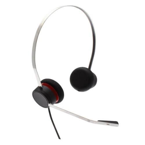 Avaya L149 Quick Disconnect Binaural Leather Headset 700514054