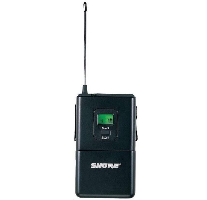 Shure SLX1 Wireless Bodypack Transmitter SLX1=-J3 SLX1-J3