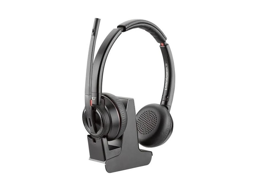 Plantronics Savi 8200 Series Headset and Charging Cradle 211423-02
