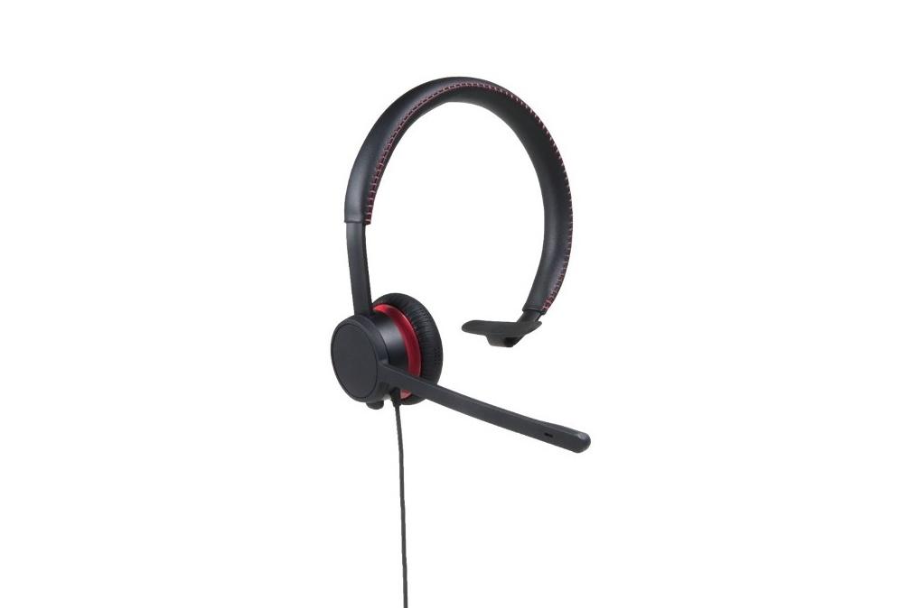 Avaya L119 RJ9 Monaural Leather Headset 700514051
