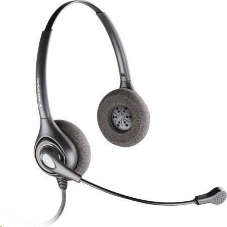 Plantronics Supraplus Sds 2491 Binaural Nc Mic 4pin Headset 92491-02