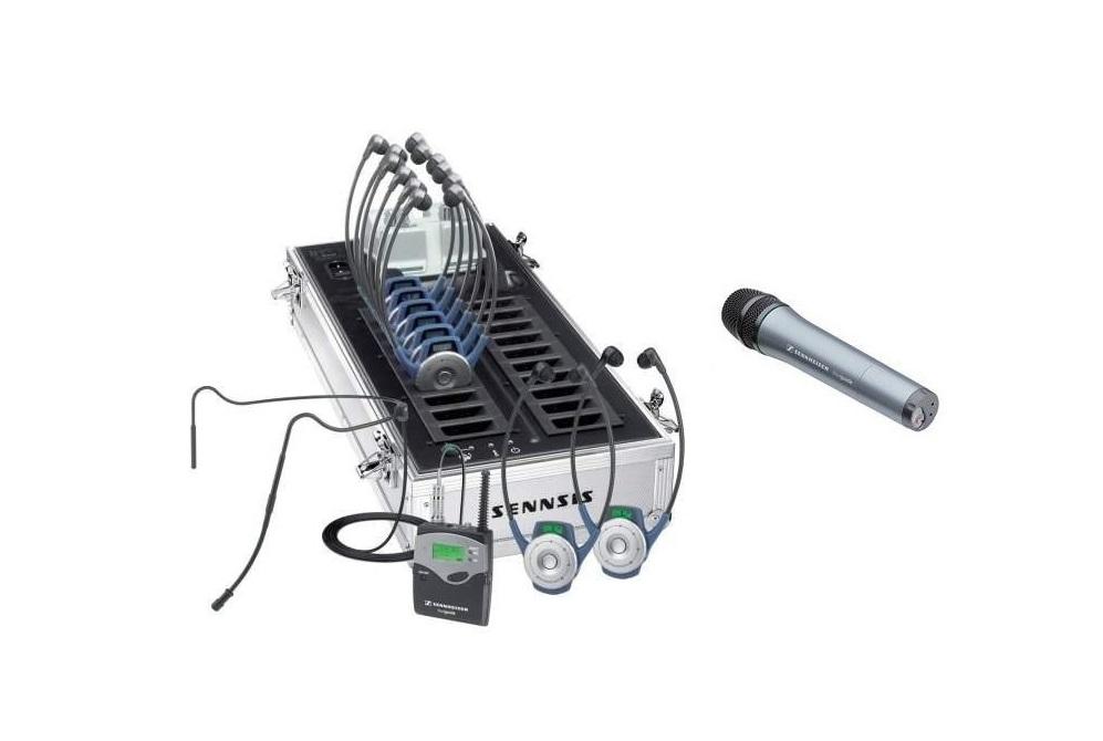 Sennheiser Tourguide 2020-20 HandHeld Tourguide Wireless System Ustghandheld