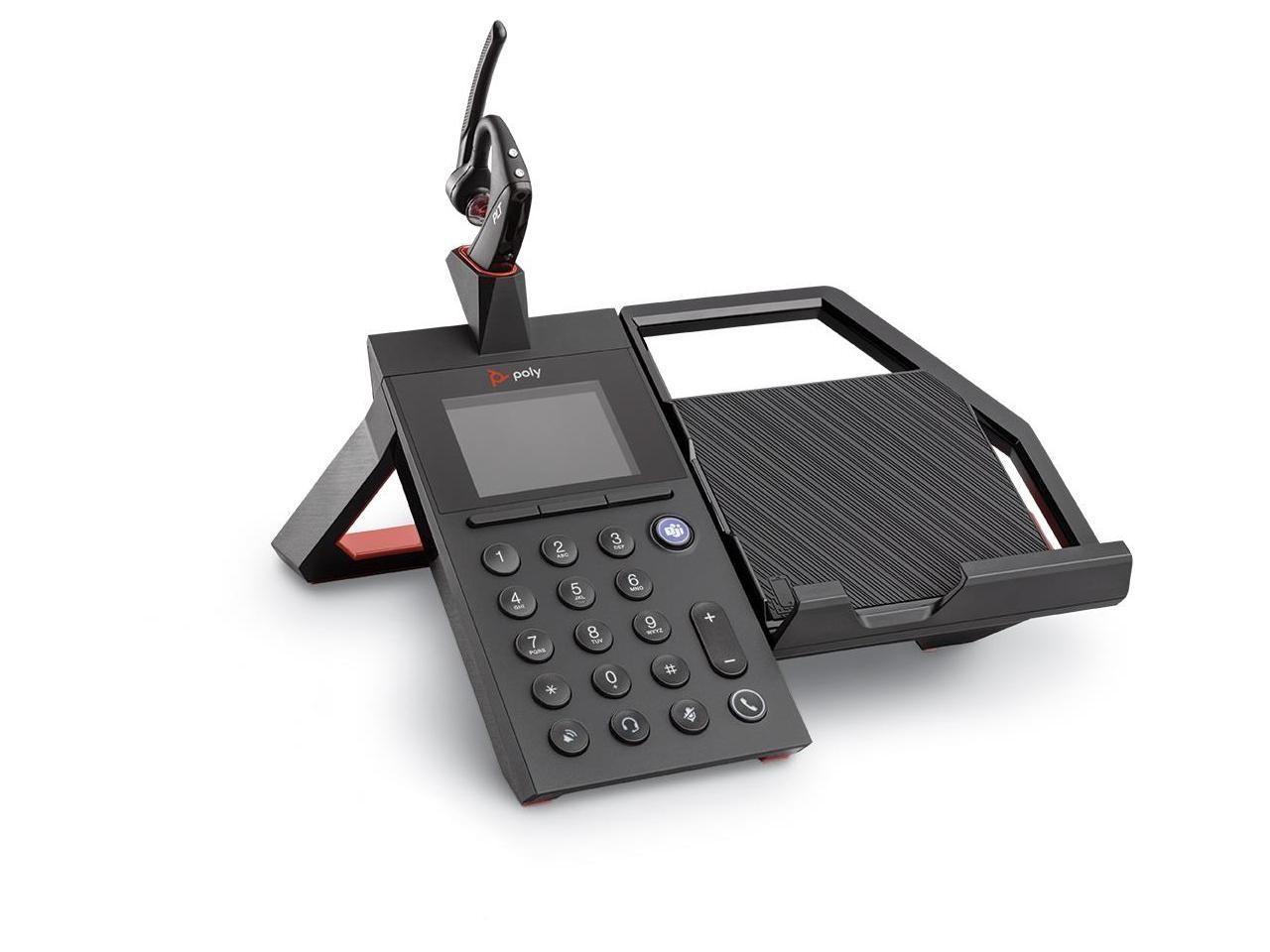 Plantronics Poly Elara 60 Speaker Phone 2.8 LCD Screen Wireless Headset 212952-311