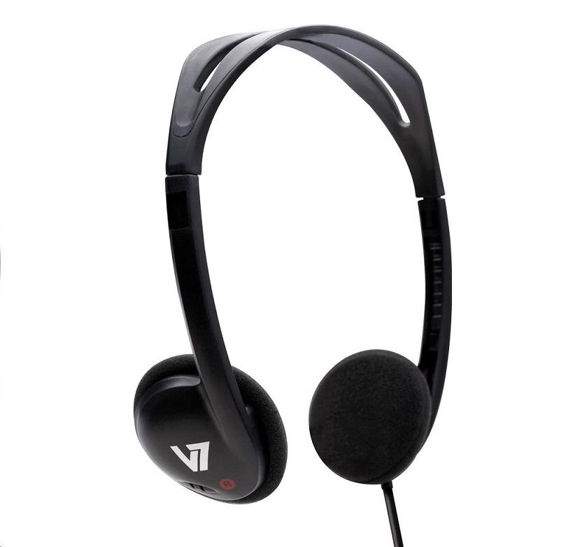 V7-Pack Of 24pcs HA300-2NP-6PK Stereo Lightweight Headphone Over-head Headband HA300-2NP-24PK