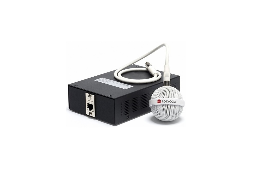 Polycom IP Ceiling Microphone White 2215-85360-001