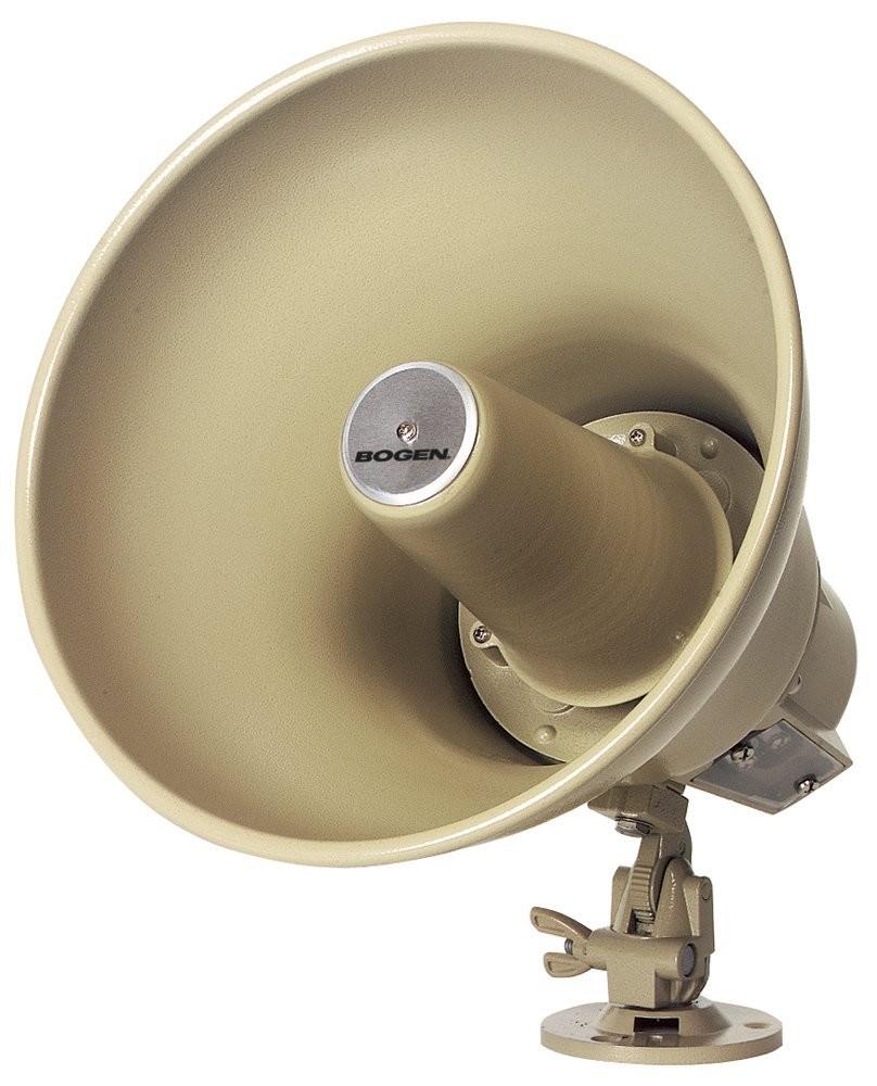 Bogen 15Watt Horn Loudspeakers With Transformer SPT15A