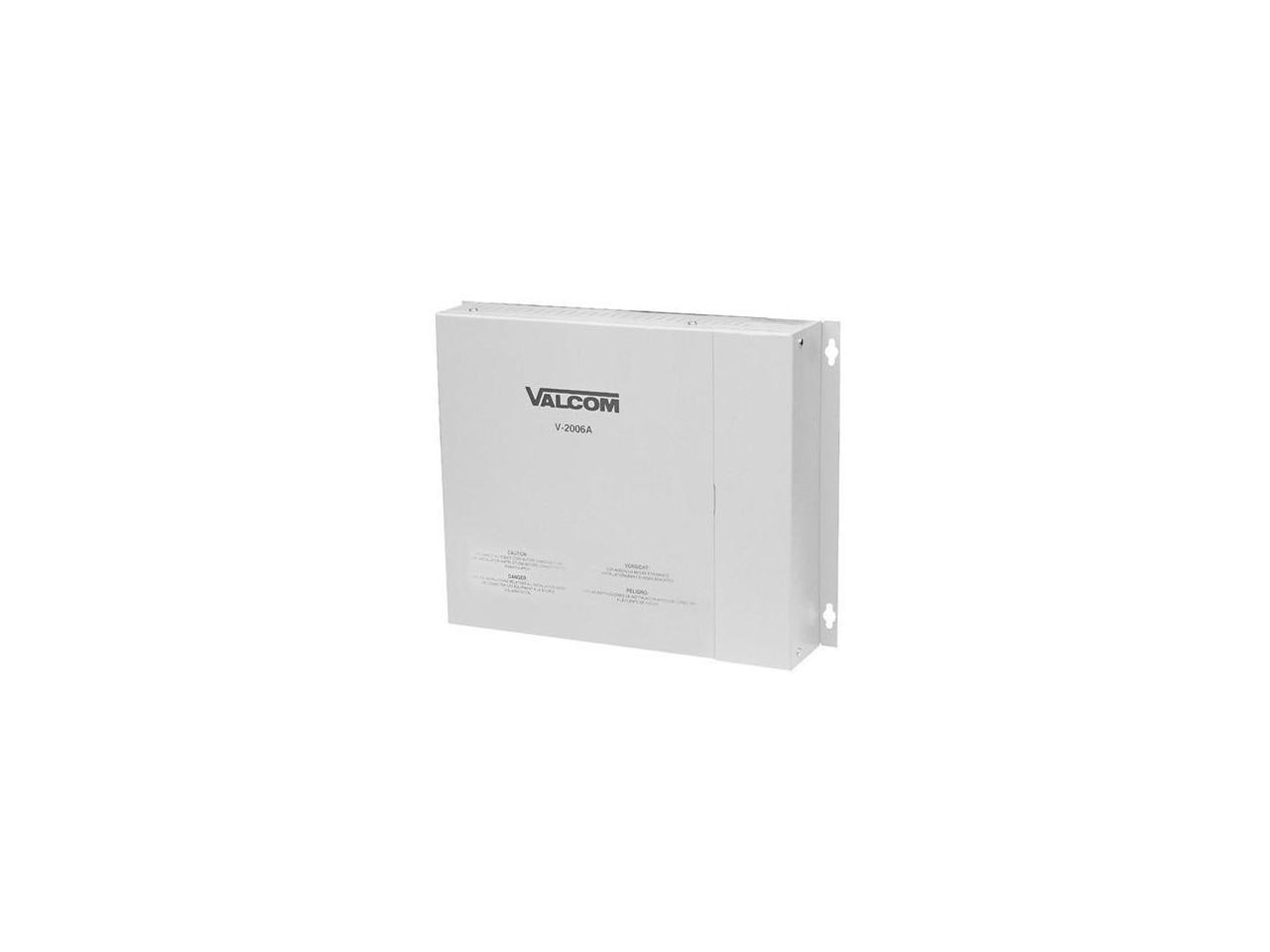 Valcom V-2006A One Way 6 Zone Page Control Unit
