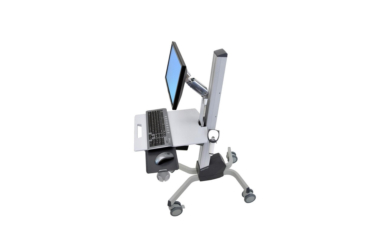 Ergotron 24-206-214 Neo-Flex LCD Monitor and Laptop Cart