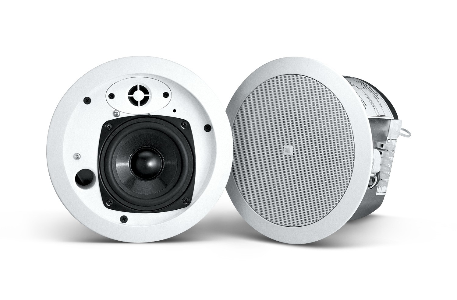 JBL Control 24CT Background/ Foreground Speaker White Pair Control-24CT