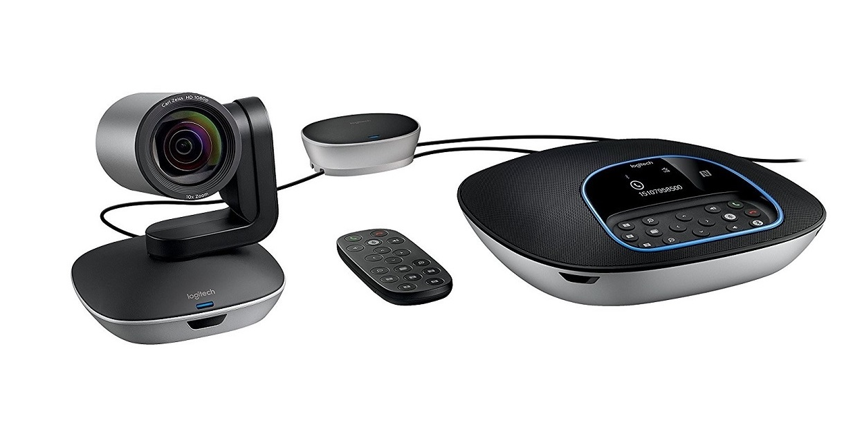 Logitech Group Wireless Video Conferencing Bundle With Camera 960-001054
