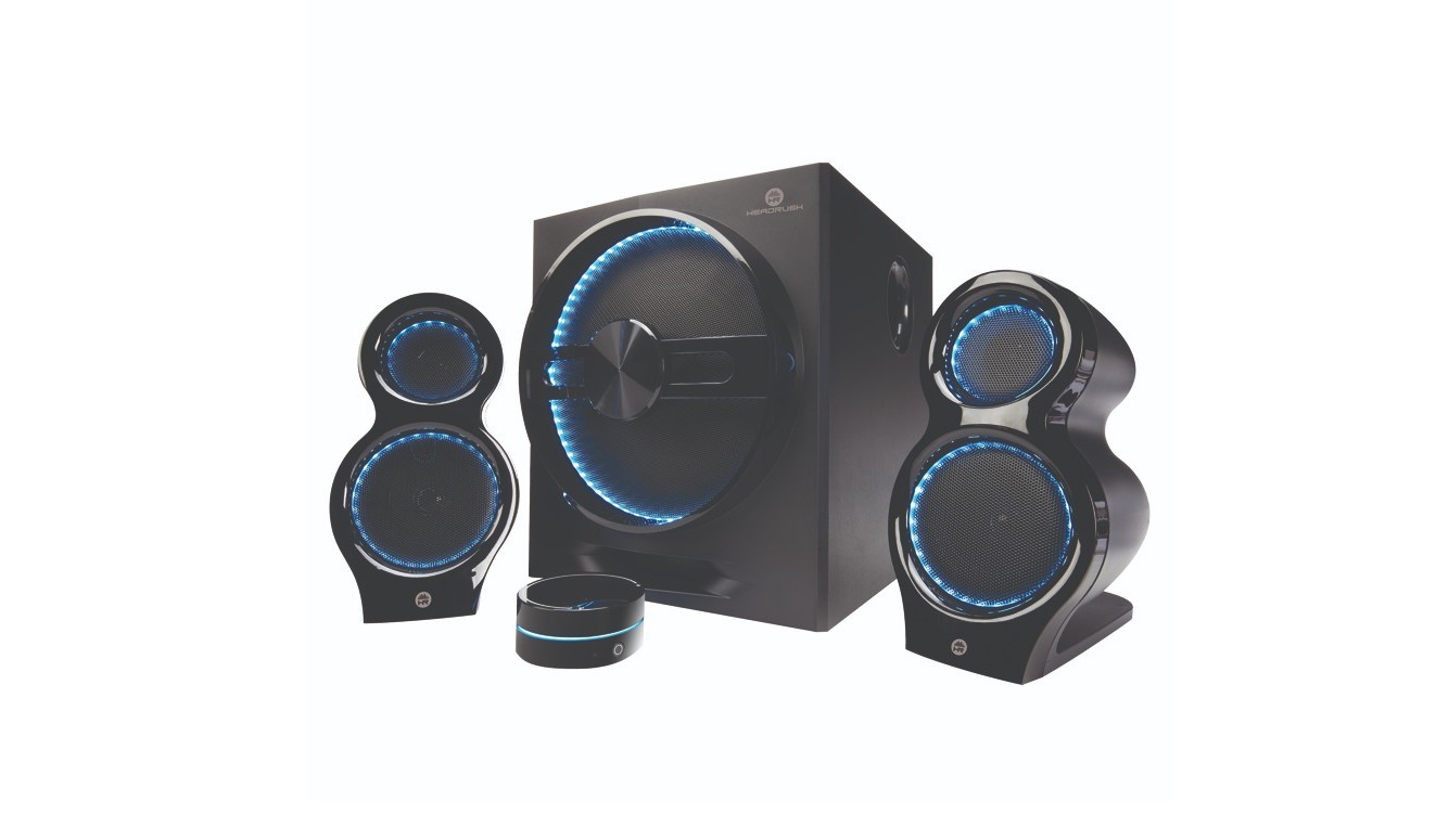 Headrush 2.1 MultiMedia BlueTooth Speaker System HRSP570 HRSP-570