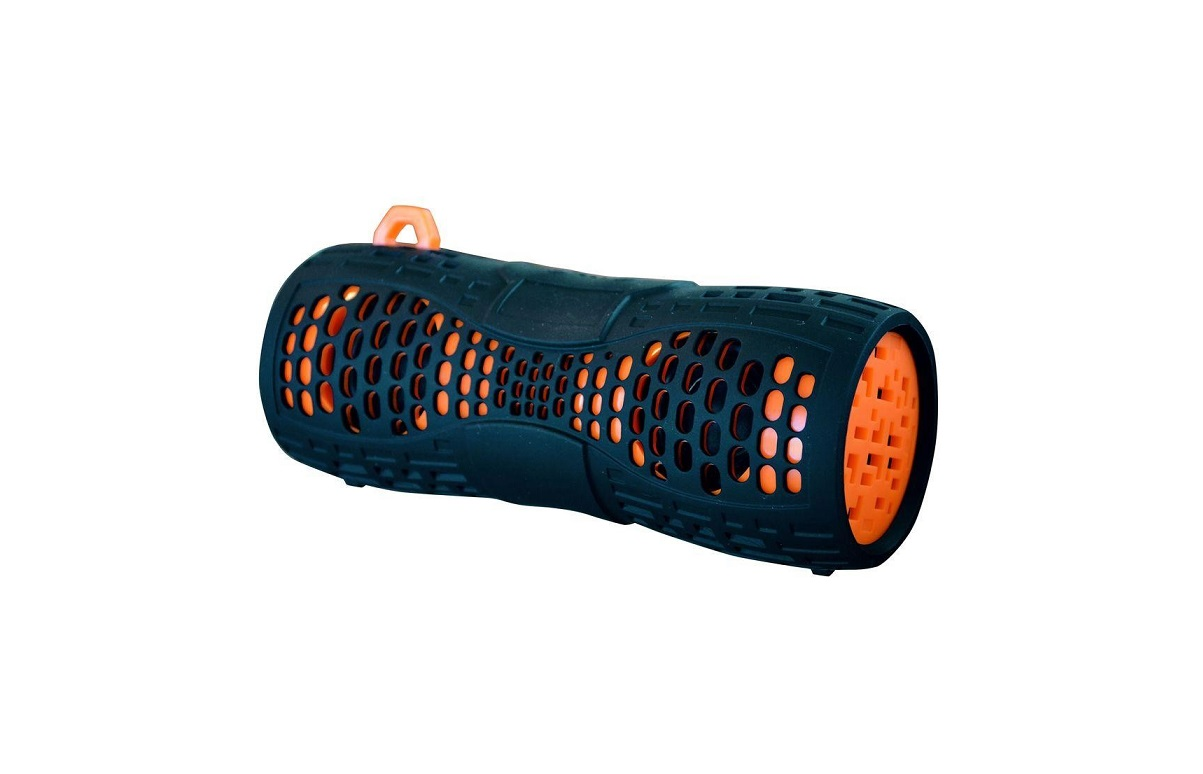 Gadgetree Water-Resistant Boom Speaker Black Orange 8034423