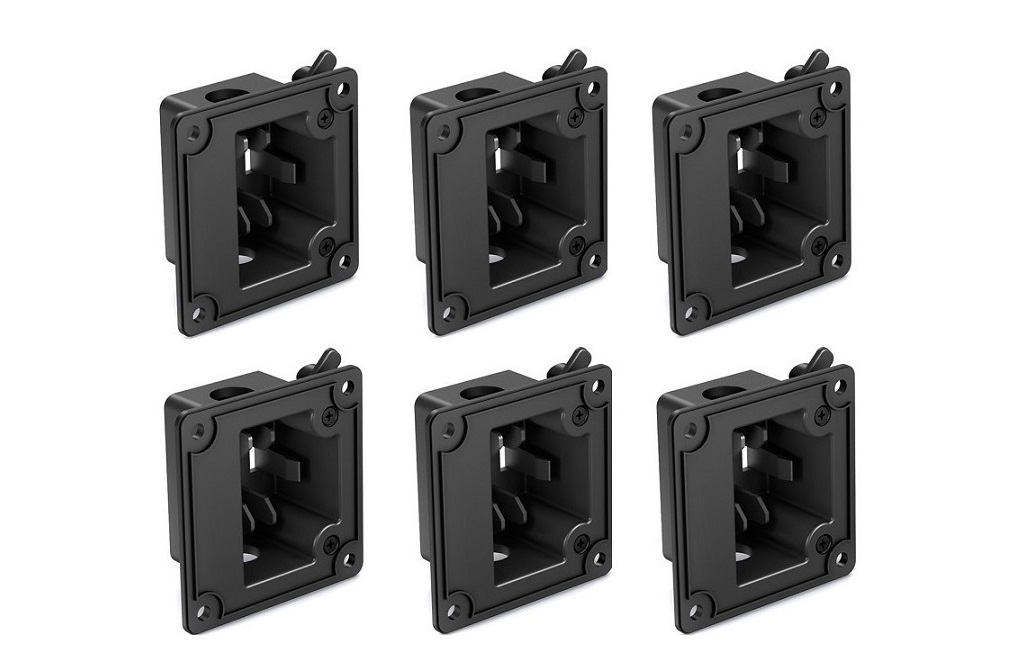 Bose 41867 In-Wall Junction Box For DS Loudspeakers 6-Pack Black 041867