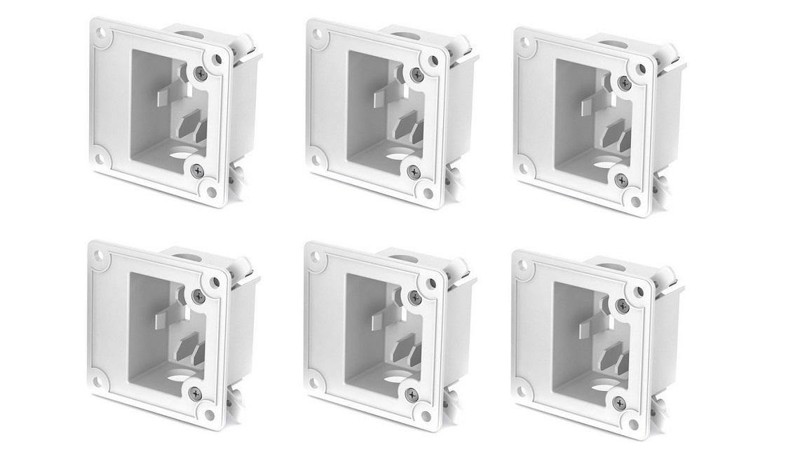 Bose 41868 In-Wall Junction Box For DS Loudspeakers 6-Pack White 041868