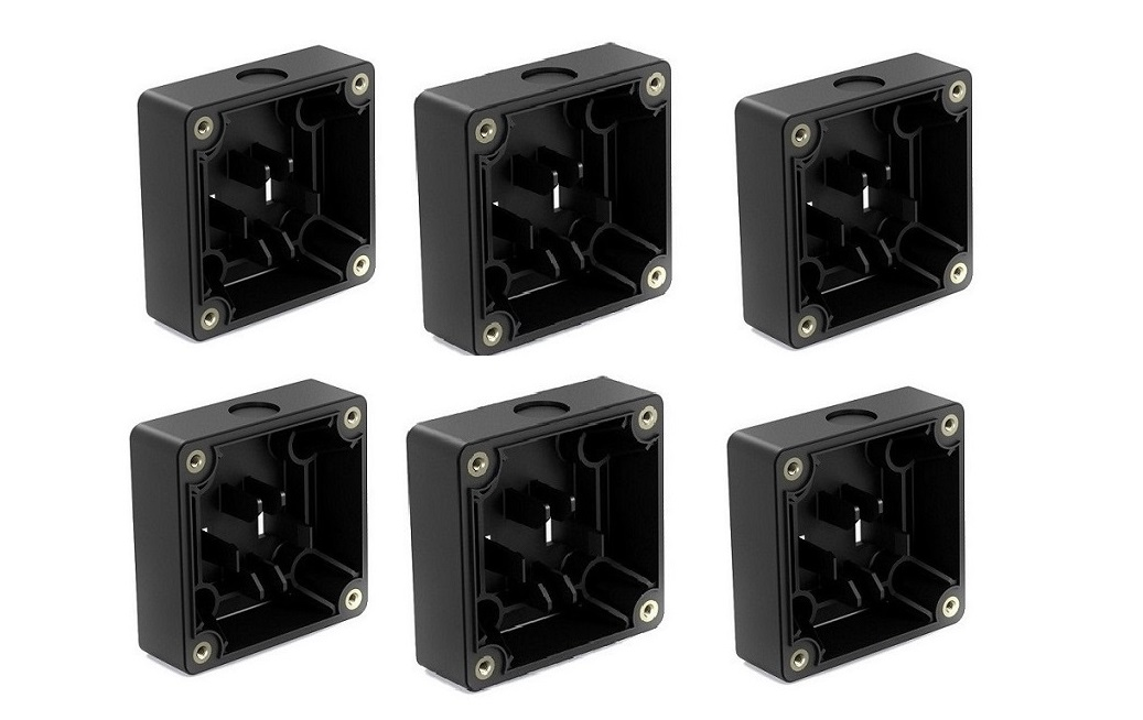 Bose 41865 On-wall Junction Box For DS Loudspeakers 6-Pack Black 041865