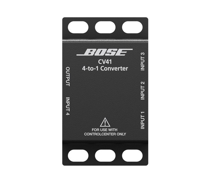 Bose 768928-0010 Professional Controlcenter CV41 4-to-1 Converter For Powershare Systems