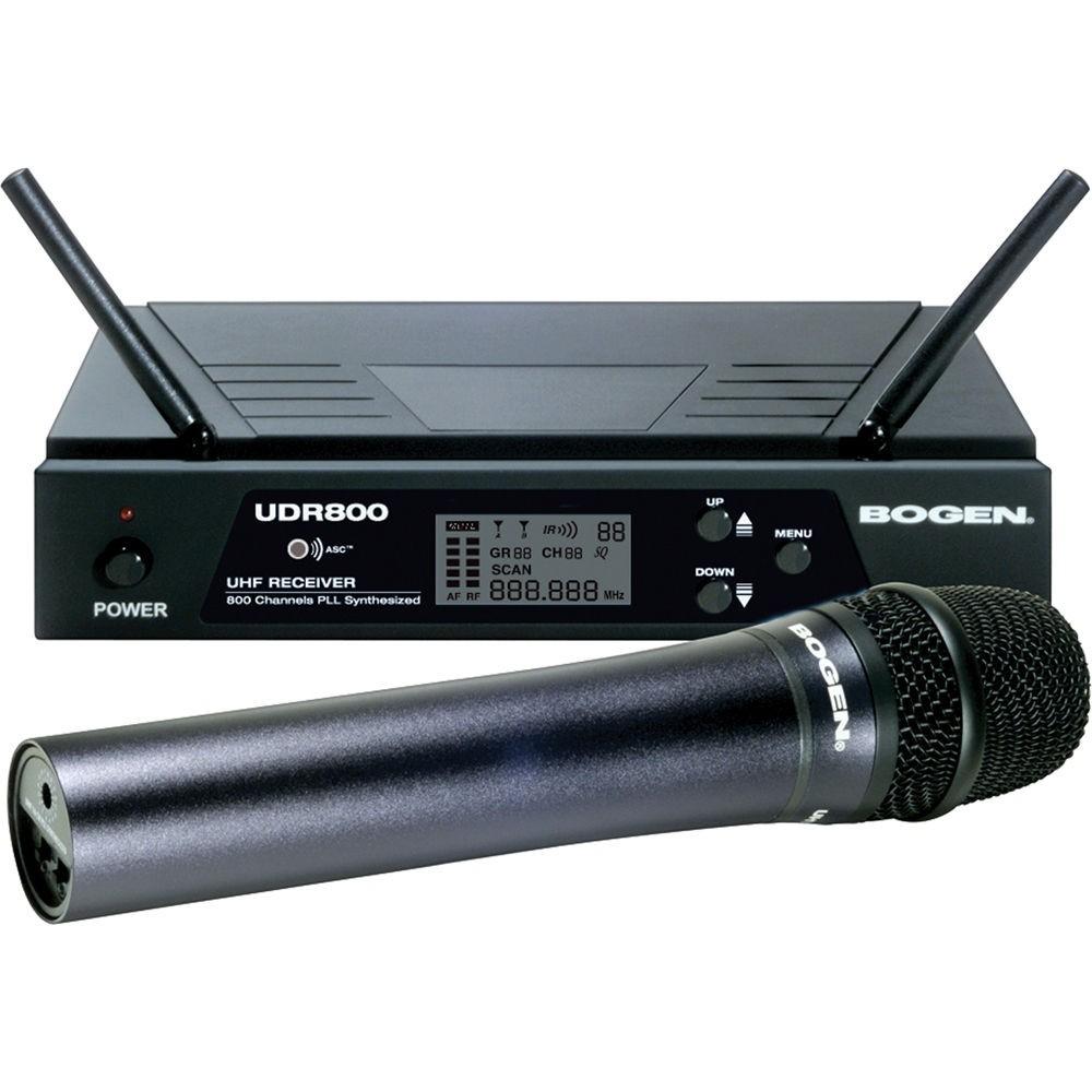 Bogen UDMS800HH HandHeld Wireless Microphone System