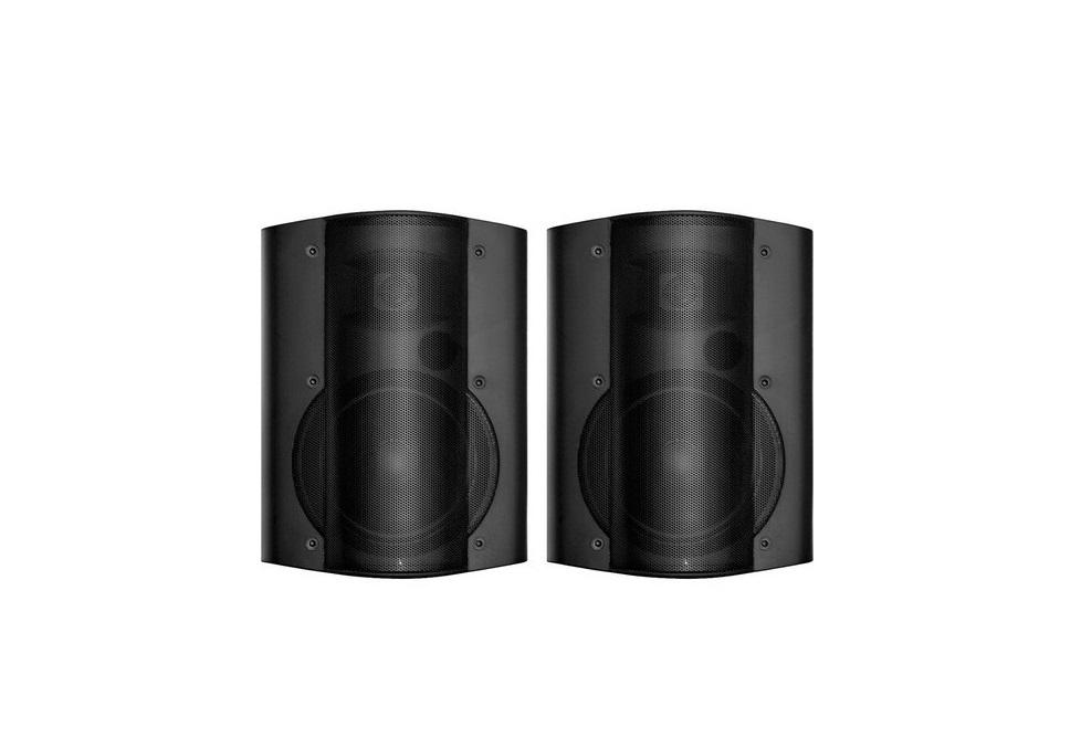 Owi 2-way 6.5in Speaker Pair Black AMP6022B AMP602-2B