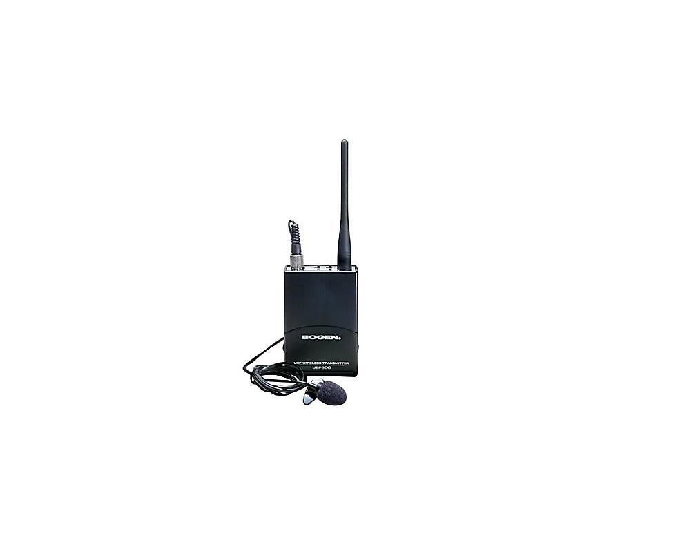 Bogen UBP800 Bodypack Transmitter and Lavalier Microphone UBP800