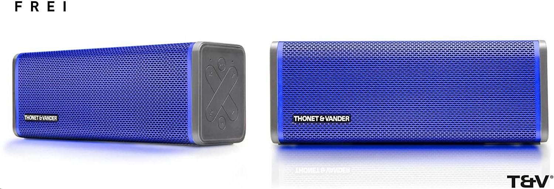 Thonet And Vander IPX4 Frei Portable Bluetooth Speaker Blue HK096-03577