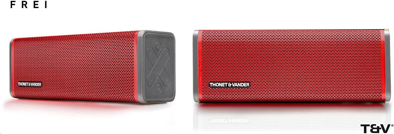 Thonet And Vander THONET&VANDER IPX4 Frei Portable Bluetooth Speaker Red HK096-03576