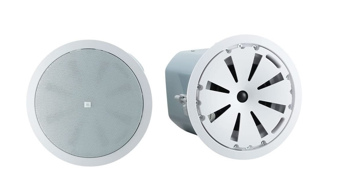JBL Control Two-Way 5.25 In-Ceiling White Loudspeaker Coaxial Pair Control 45C/T