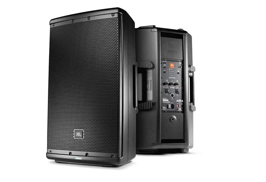 Jbl Professional 2-Way Bluetooth 1000w Self-Powered Sound Single Speaker Black EON612