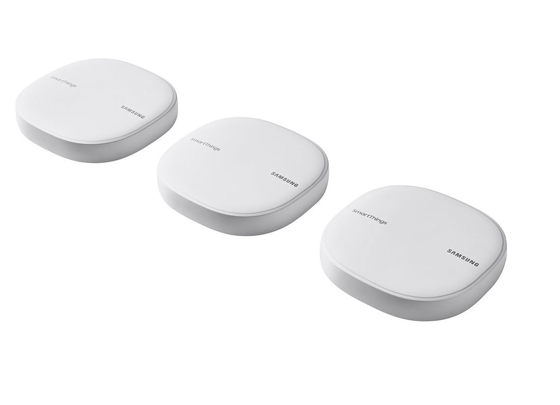 Samsung Smartthings Wifi AC1300 Dual-Band Wi-Fi Router 3-Pack ET-WV525KWEGUS