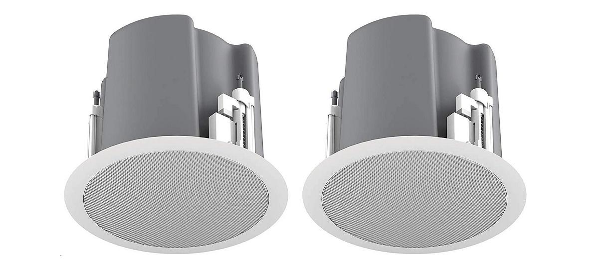Atlassound Atlas Sound Strategy Iii Series 6.5 2-way Ceiling Loudspeaker Pair White FAP63T-W