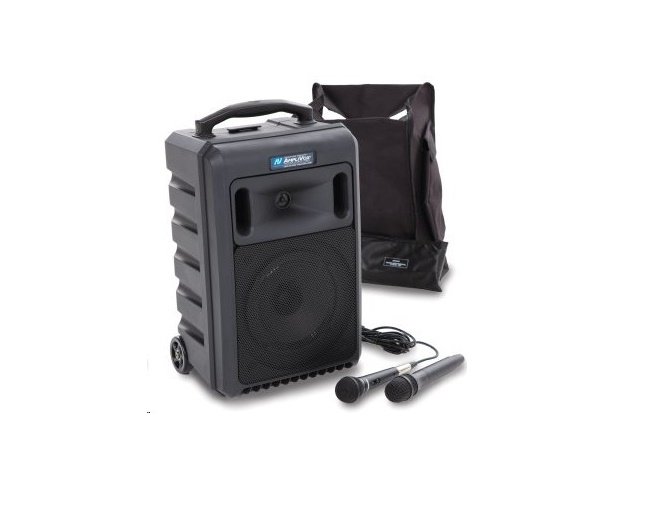 Amplivox Wireless Titan 100W Amplifier Portable PA System SW800